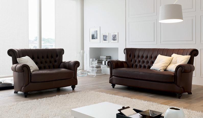 Collezione divani salotti classici e moderni d 39 autore d for Collezione divani e divani