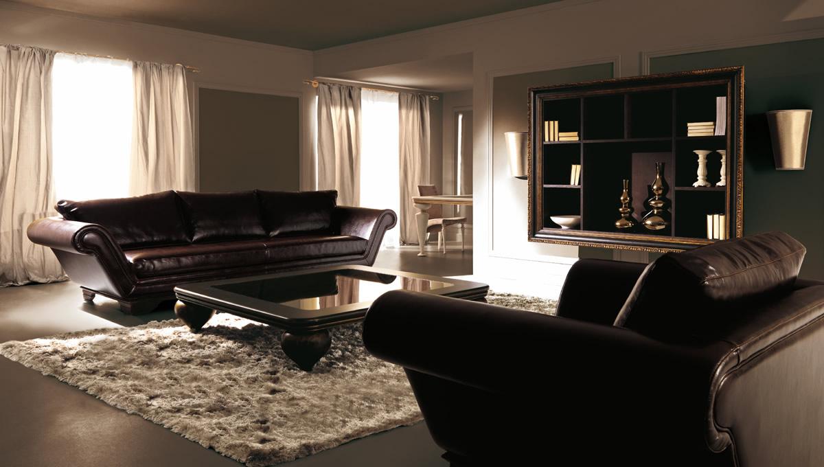 Collezione divani salotti classici e moderni d 39 autore d for Arredamenti per salotti moderni